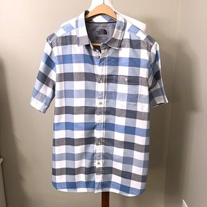 The North Face Men's Button Down Plaid Shirt